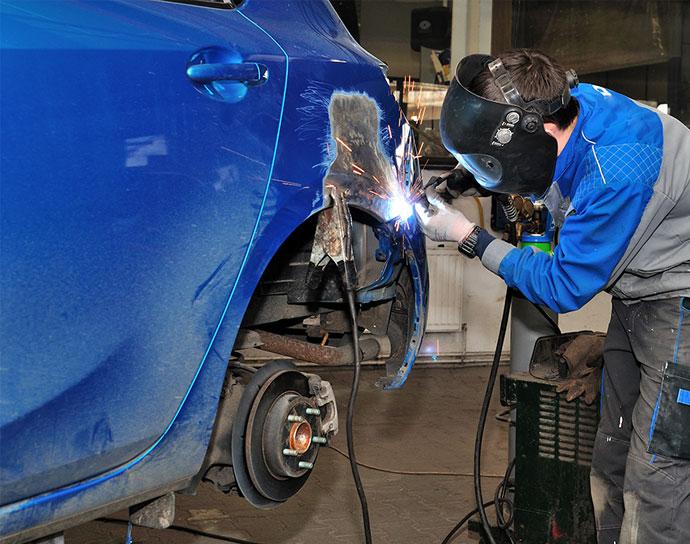 Réparation de carrosserie à Compiègne