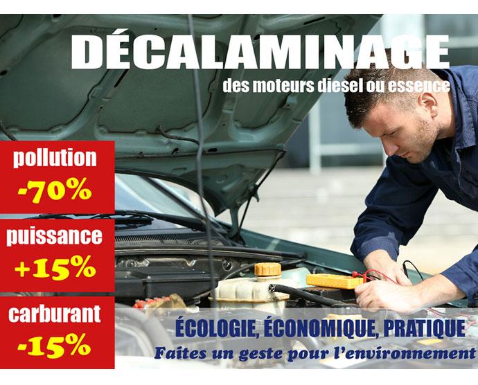 Décalaminage moteur à Compiègne